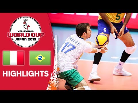 ITALY Vs. BRAZIL - Highlights | Men's Volleyball World Cup 2019
