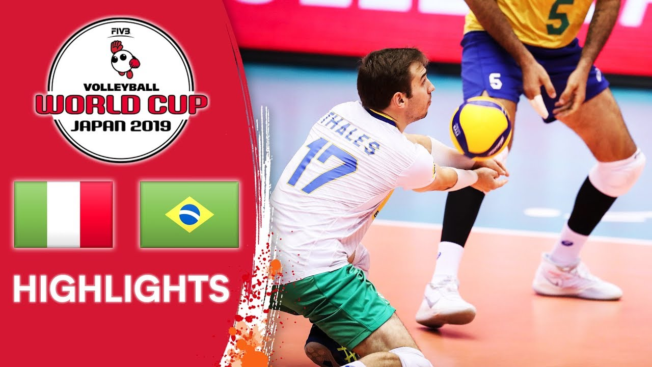 Download ITALY vs. BRAZIL - Highlights | Men's Volleyball World Cup 2019