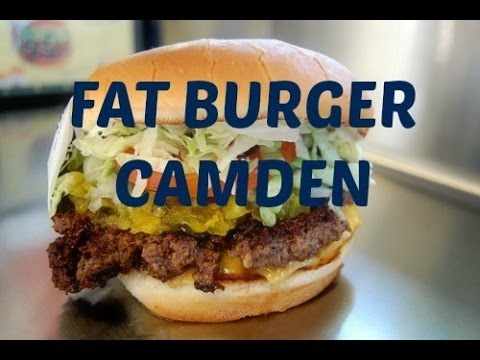 Fat Burger comes to UK - Camden Town