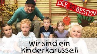 Wir sind ein Kinderkarussell - Singen, Tanzen und Bewegen || Kinderlieder