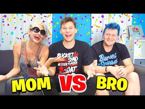 WHO KNOWS ME BETTER? MOM vs BRO