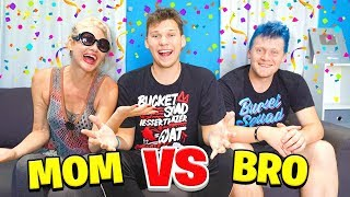 Download WHO KNOWS ME BETTER? MOM vs BRO Mp3 and Videos