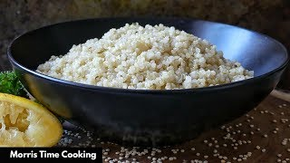 How To Make Quinoa | Lemon & Herb | Lesson #99 | Morris Time Cooking
