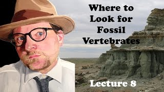 Lecture 8 Where to Look for Fossil Vertebrates?