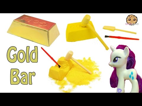 Surprise Gold Bar Dig It Digging For Gold With My Little Pony Rarity - Cookie Swirl C Video