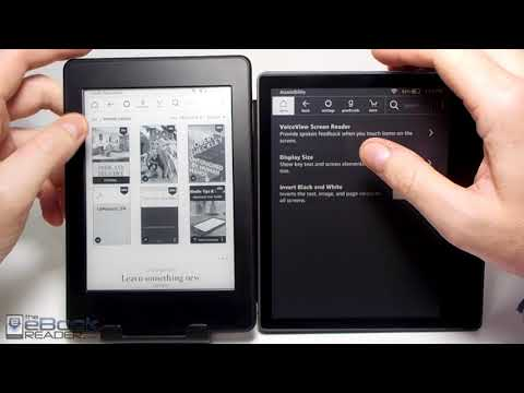 Kindle Oasis 2 vs Kindle Paperwhite Comparison Review