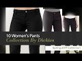 10 Women's Pants Collection By Dickies Spring 2017 Collection