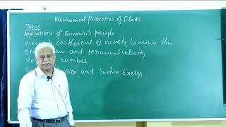 I PUC | PHYSICS | Mechanical properties of fluids -03