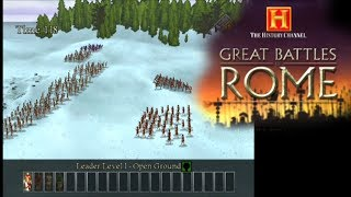 The History Channel: Great Battles of Rome ... (PS2)