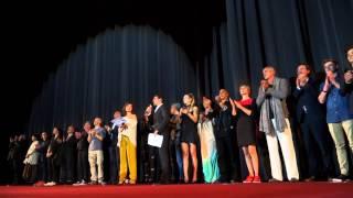 """Elyas M'Barek & Co: Bühnenvorstellung Schauspieler """"Fack Ju Goehte 2"""" @ mathäser Kino, 07.09.2015"""