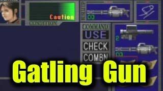 Resident Evil 2 - Gatling Gun vs Bosses game B