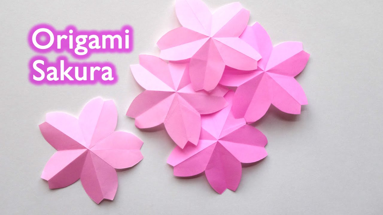 How To Make Easy Origami Flowers Youtube Psychologyarticlesfo