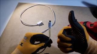 DIY Cómo arreglar el cable de un cargador muy fácil