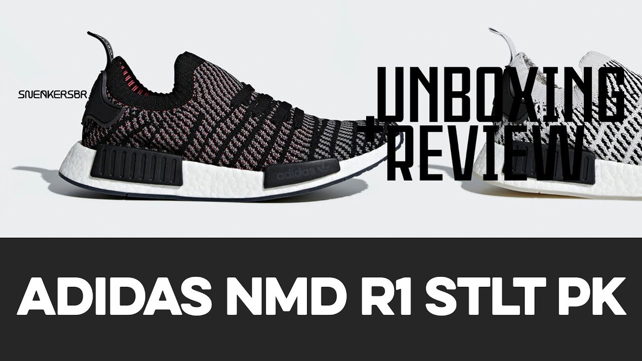 9dbcb2f0d9d89 UNBOXING+REVIEW - adidas NMD R1 STLT PK - YouTube