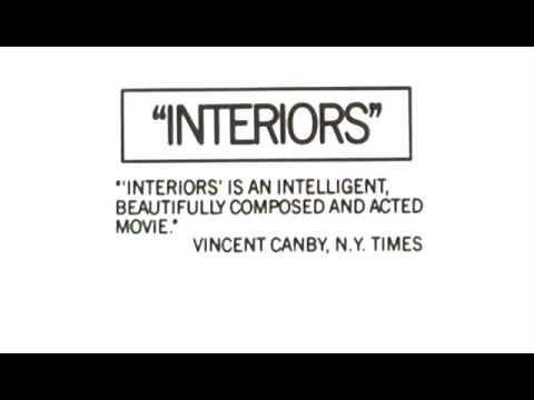 Interiors trailer