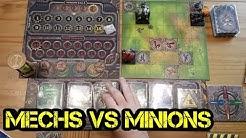Mechs vs Minions - Brettspiel - Review - Deutsch - Boardgame Digger