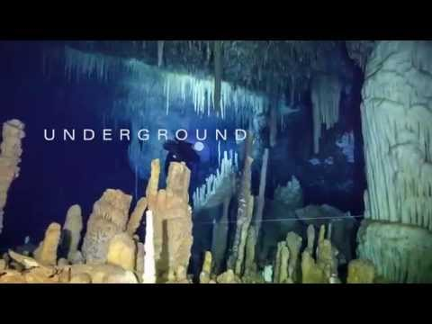 Go Sidemount | Underground - The Caves of the Bahamas - Trailer 2014 Movie - Official [HD]
