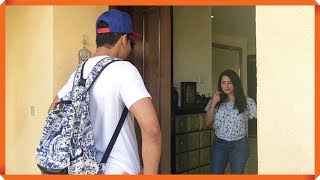 SALES MAN VISITS ARAB WOMAN'S VILLA
