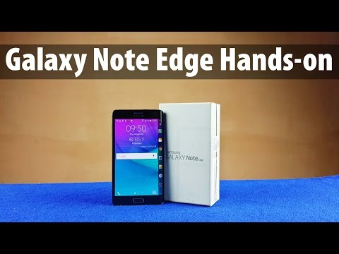 Samsung Galaxy Note Edge Unboxing & Full Hands-on Review
