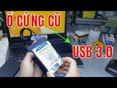 TẬN DỤNG Ổ CỨNG LAPTOP - CHẾ USB 500GB - DIY USB 500GB FROM HDD