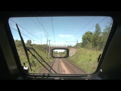 TTR133 SJ Cab Ride Malmo to Halmstad