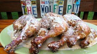 Barbecue Chicken With Alabama White Bbq Sauce - Big Bob Gibson's Recipe (clone)