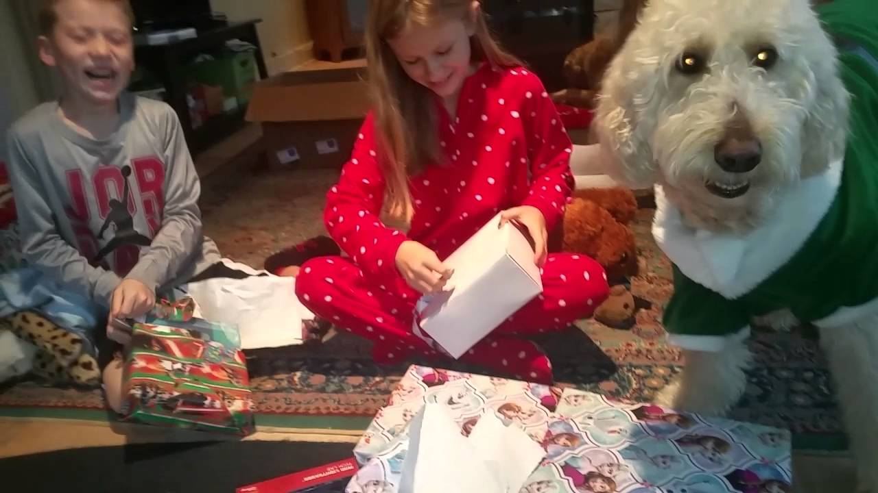 Christmas morning 2016 Jordan hunt - YouTube