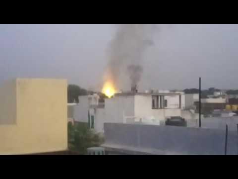 Ordnance factory bomb blast