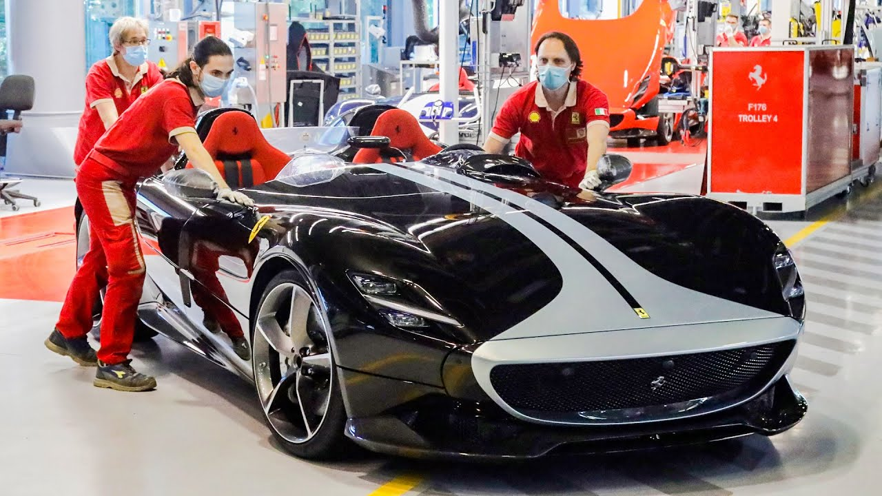 Ferrari Special Series Factory Tour After Longest Ever Closing 2020 Youtube