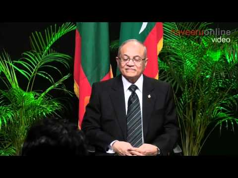 President Gayoom announces decision to form new party