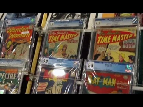 Fans celebrate National Comic Book Day
