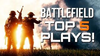 BATTLEFIELD TOP PLAYS - EPISODE #6 - Smart Plays, Killstreaks, Sick Shots