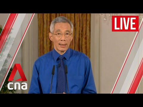 [LIVE HD] COVID-19: PM Lee announces 4-week extension of Singapore circuit breaker to Jun 1