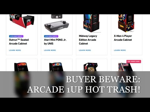 Buyer Beware: Arcade1up machines are hot trash! (rant) from Canadian Gamer