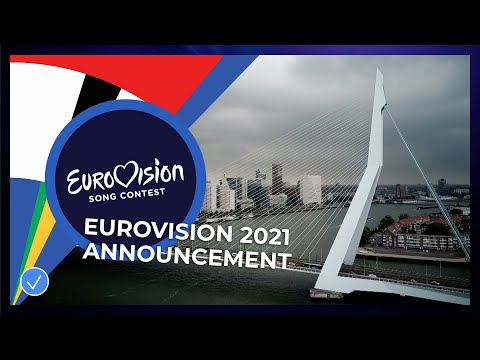 The Eurovision Song Contest 2021 will take place in Rotterdam!