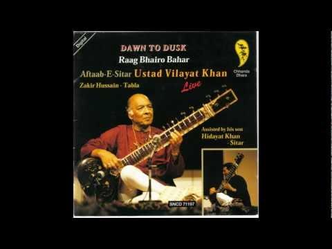 Vilayat Khan - sitar - Rag Bhairo Bahar - Dawn to dusk concert - Stuttgart 1997