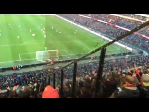 Cheerio Cheerio, in Eindhoven zingen we zo : Feyenoord - PSV : 0-2 : 17-01-2016