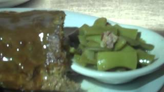 The Blue Ribbon Grill: Big Meatloaf