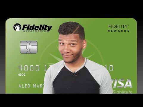Credit Card Review: Fidelity Signature Rewards Credit Card
