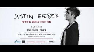 Justin Bieber - le 5 et 6 octobre au Sportpaleis d