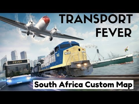 Transport Fever - South Africa Custom Map