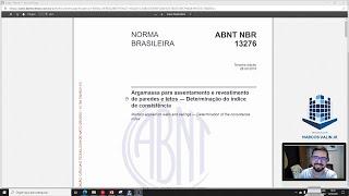 NBR 13276 - Índice de consistência da Argamassa
