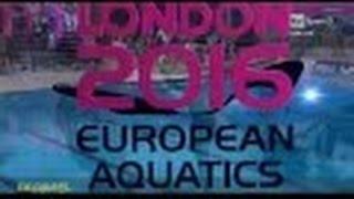 Cagnotto&Dallape'- ORO Sincro 3mt Campionati Europei di Tuffi Londra 2016