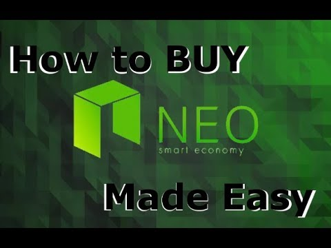 How to buy NEO - The easiest way to BUY NEO!