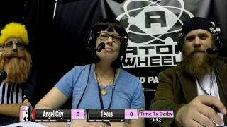 WFTDA Roller Derby: 2014 Championships - Angel City Derby Girls vs. Texas Rollergirls
