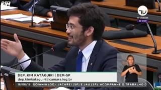 kim rebate falcias de deputado do psol sobre a reforma