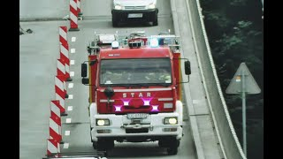 [Problem z przejazdem!][Alarmowo]881[S]21 GBA Wojskowej Straży Pożarnej udaje się do zdarzenia.