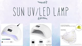 48W UV/LED Nail Lamp | Promo Code 😱😍