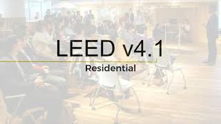 Welcome to LEED v4.1 for Residential Multifamily