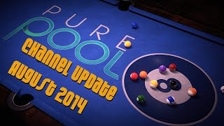Pure Pool PC Gameplay Channel Update | Awesome Lucky Win | Best and Worst Pool Player Ever